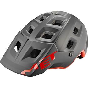MET Terranova Helm, zwart/rood